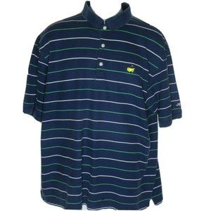 Masters Collection Stiped Polo/Golf Shirt